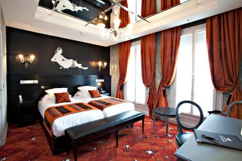 Maison albar h tel paris champs elys es ex mac mahon h tel 3 avenue mac mahon 75017 paris - Hotel miroir plafond paris ...