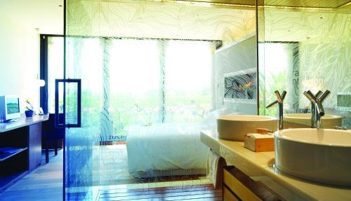 Habitación Doble Deluxe - No reembolsable Can Bonastre Wine Resort 4
