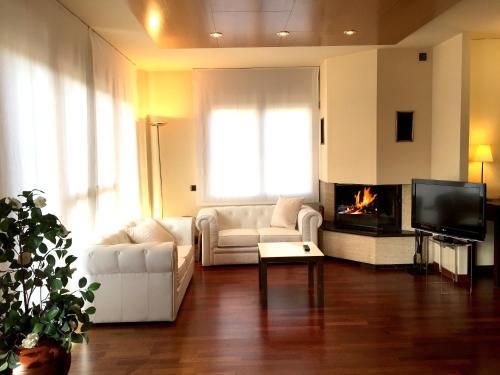 Suite con chimenea y acceso al spa Hotel Del Lago 1