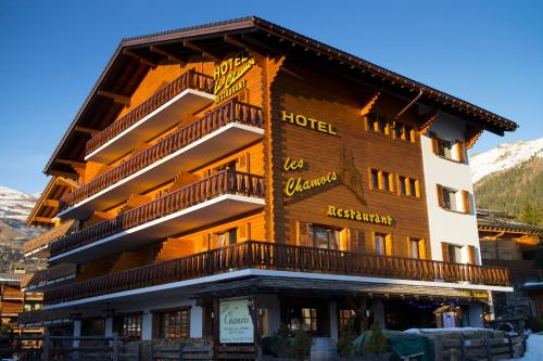 Hotel Les Chamois (Bed and Breakfast)