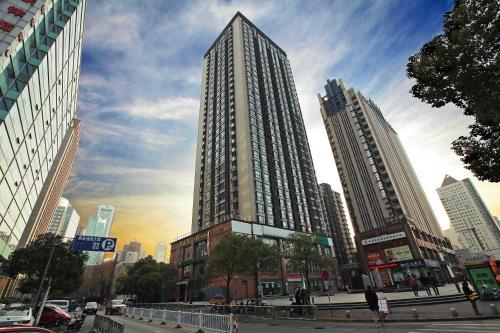 Отель Nanjing 365 Service Apartment - Junlin Shop 3 звезды Китай