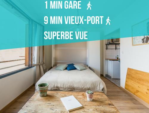 Sleep in Marseille - Gare Saint Charles