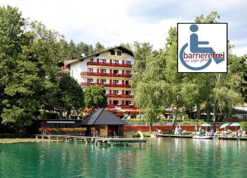 Отель Strandhotel Orchidee 3 звезды Австрия
