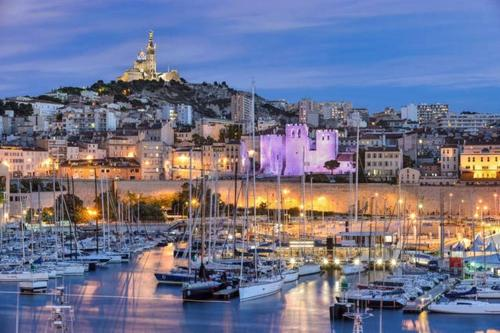 Appartement Terrasse Joliette & Vieux-port