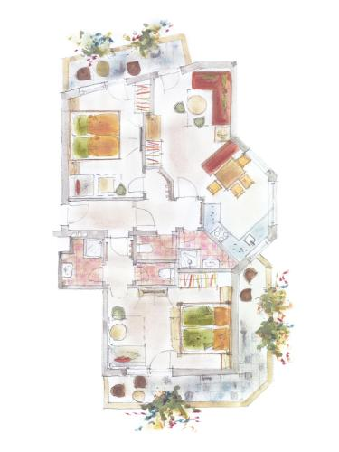Apartament de Dues Habitacions (6 Adults) (Two-Bedroom Apartment (6 Adults))