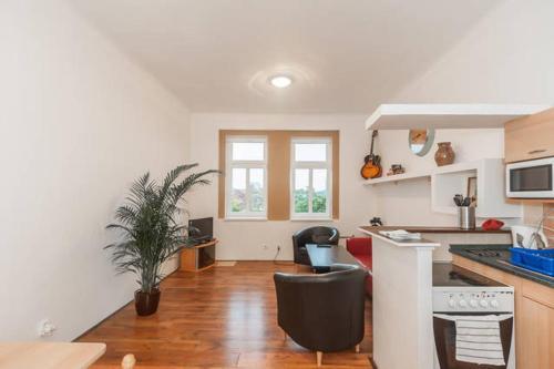 Modern Spacious Apartment Bubenska