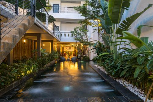 Double Leaf Boutique Hotel, Phnom Penh