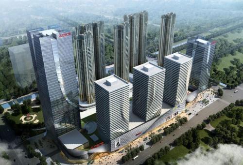 Отель Foshan Keruisi Apartment (Nanhai Wanda SOHO Branch) 3 звезды Китай