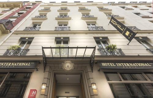 H 244 Tel International Paris H 244 Tel 6 Rue Auguste Barbier