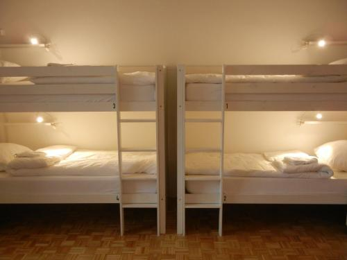 Stapelbed in Gemengde Slaapzaal met 5 bedden (Bunk Bed in 5-Bed Mixed Dormitory Room)