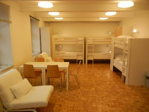 Stapelbed in Gemengde Slaapzaal met 12 Bedden (Bunk Bed in 12-Bed Mixed Dormitory Room)