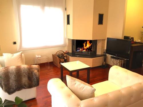 Suite con chimenea y acceso al spa Hotel Del Lago 5