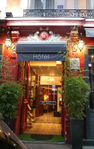 Hotel celtic h tel 15 rue d 39 odessa 75014 paris for Reservation hotel paris