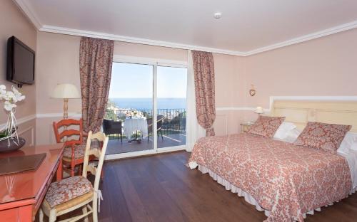 Habitación Doble Superior con vistas al mar Hotel BlauMar Llafranch 4