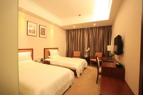 Отель GreenTree Inn Hebei Langfang Development Zone Convention and Exhibition Centre Business Hotel 3 звезды Китай