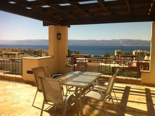 balkon/terasa Sea View Apartment Tala Bay