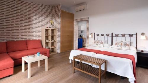 Estudio con terraza Hotel La Garapa 1