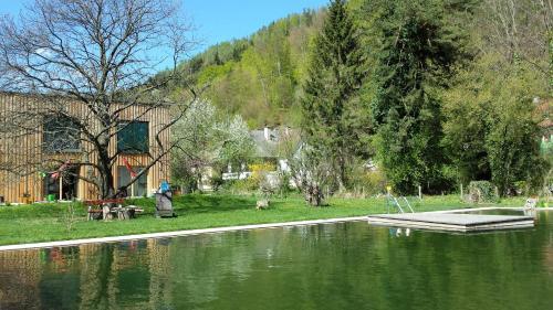 Prenning's Garten-KulturPension - Studio mit Balkon