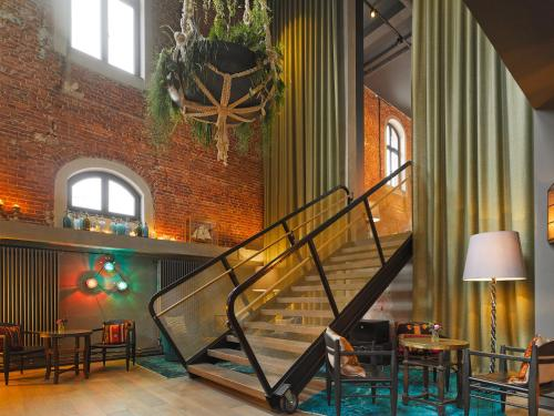25hours Hotel Altes Hafenamt in Hamburg