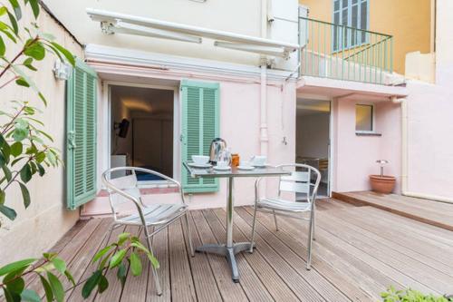 Отель Appartement avec jardin 2 звезды Франция