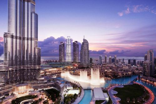Wider View - Downtown - Burj Residence