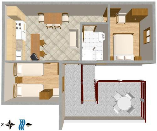 Apartment Pisak 1011b
