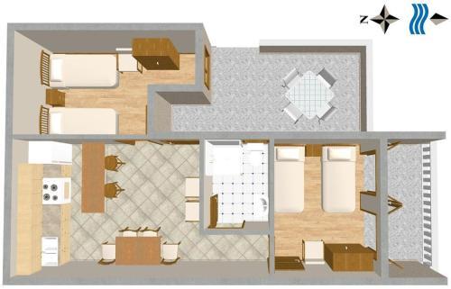 Apartment Pisak 1011a