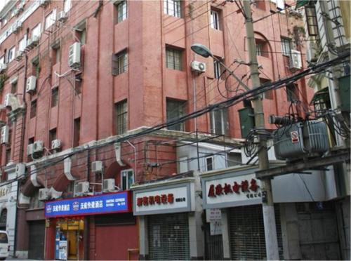 Отель Hanting Express Shanghai Middle Sichuan Road 2 звезды Китай