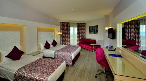 Standard Doppelzimmer mit Meerblick (Standard Double Room with Sea View)