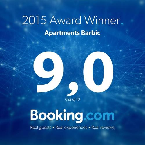 Отель Apartments Barbic 0 звёзд Хорватия