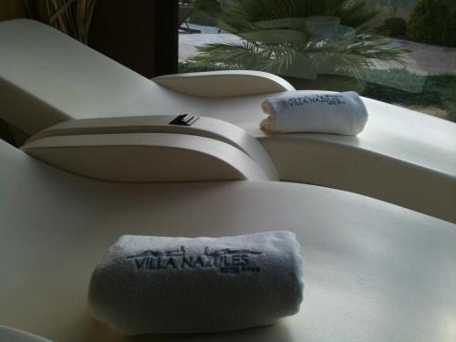 Habitación Doble con acceso al spa - 1 o 2 camas Villa Nazules Hípica Spa 3