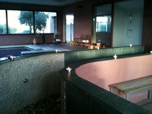 Habitación Doble con acceso al spa - 1 o 2 camas Villa Nazules Hípica Spa 4