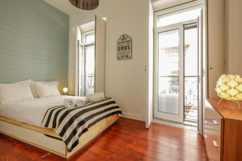 Apartment mit 1 Schlafzimmer - Rua do Carmo Nr. 97 (One-Bedroom Apartment - Rua do Carmo, nº 97)