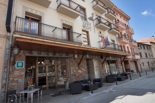 Отель Hotel Sant Roc 1 звезда Испания