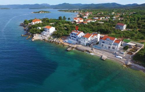 Apartment Janjina with Sea View IX