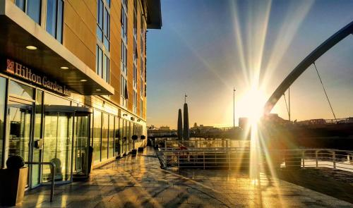 Stay at Hilton Garden Inn Glasgow City Centre