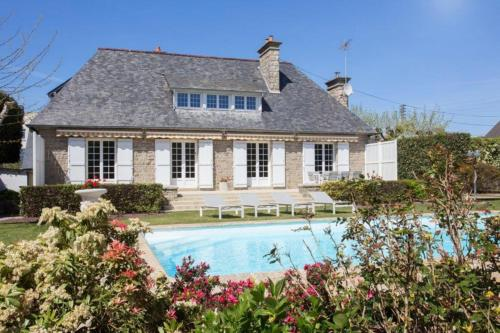 St Malo - Villa de luxe avec piscine chauffée