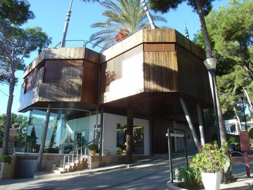 Camping, hotel en Moraira