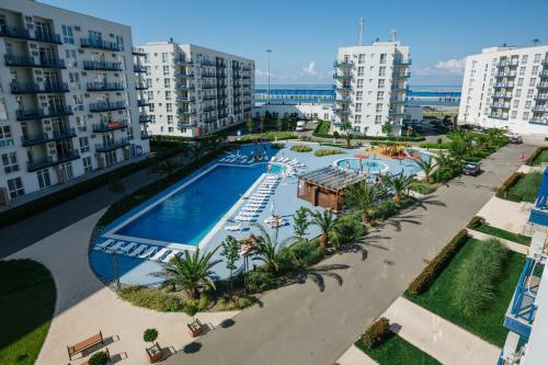 Stay at Apart Hotel Imeretinsky Pribrezhniy Kvartal