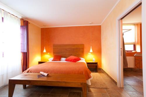 Doppel- oder Zweibettzimmer Casa Rural Etxegorri 1