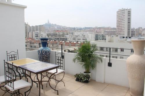 Les toits de Marseille