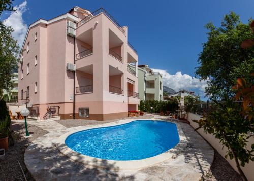 Отель Apartments Bojka 3452 3 звезды Хорватия