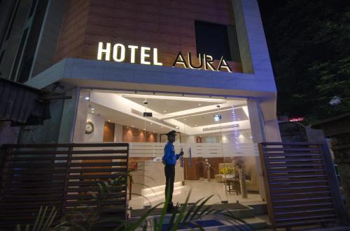 Отель Aura hotel 2 звезды Индия