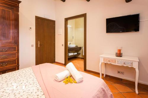 Standard Double Room Masia Can Canyes & Spa 5