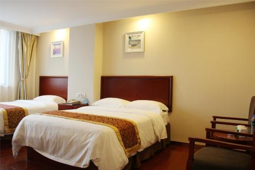 Отель GreenTree Inn Fujian Fuzhou Software Park River View Business Hotel 3 звезды Китай
