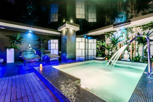 Habitación Doble con acceso al spa Grand Hotel Don Gregorio 5