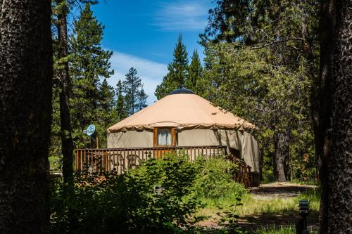 More about Bend-Sunriver Camping Resort 24 ft. Yurt 16
