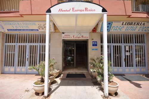 Отель Hostal Residencia Europa Punico 1 звезда Испания