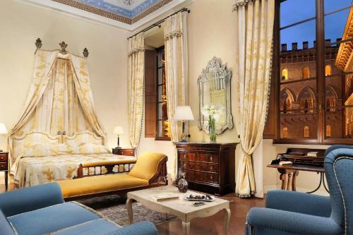 Отель Grand Hotel Continental Siena - Starhotels Collezione 5 звёзд Италия