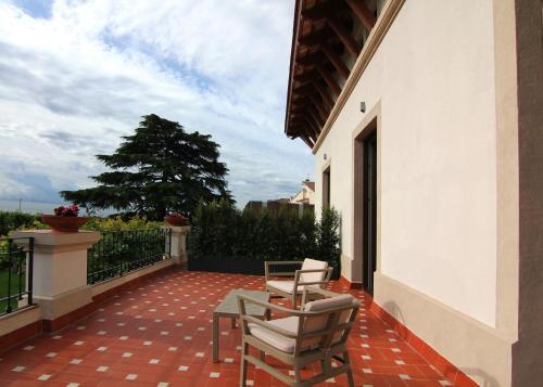 Habitación Doble Superior con terraza Hotel Arrey Alella 4